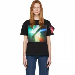 Raf Simons Black The xx Edition Patch T-Shirt 201-111X-19001-00099