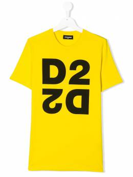Dsquared2 Kids футболка с логотипом DQ03WID00XK