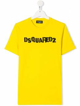 Dsquared2 Kids футболка с логотипом DQ03Y1D00XK