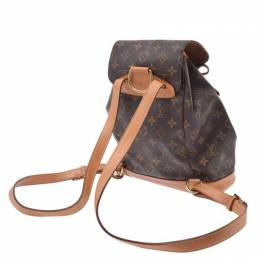 Louis Vuitton	 Monogram Canvas Montsouris Backpack