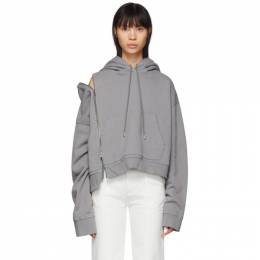 Maison Margiela Grey Multi-Wear Zip Hoodie S51GU0081 S25405