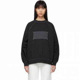 Maison Margiela Black Memory Of Label Sweatshirt S51GU0089 S25405