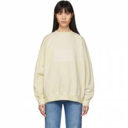 Maison Margiela Off-White Memory Of Label Sweatshirt S51GU0089 S25405