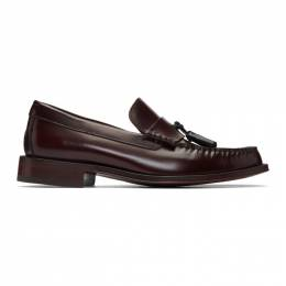 Paul Smith Burgundy Lewin Loafers M1S-LEW02-ATEC