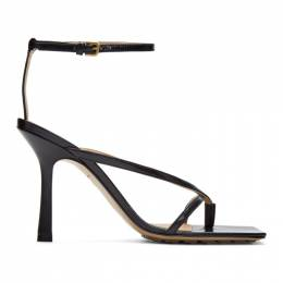 Bottega Veneta Black Stretch Sandals 608835 VBSF0