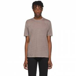Maison Margiela Three-Pack Grey and Brown Jersey T-Shirt S50GC0608 S23616