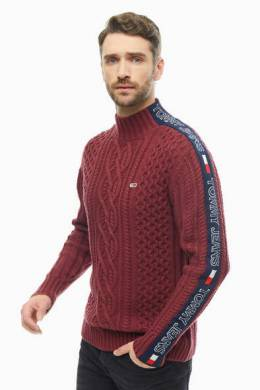 Свитеры Tommy Jeans DM0DM06994 0EH burgundy / multi
