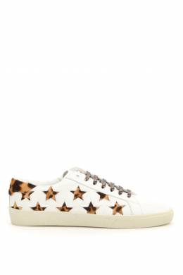 SNEAKERS WITH PONY STARS Saint Laurent 182395LSN000005-9299