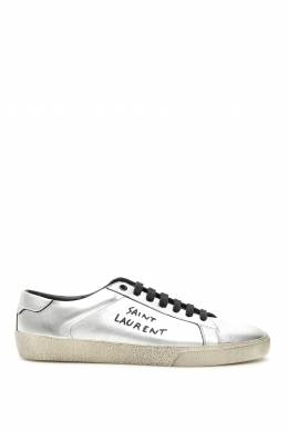 SL06 LEATHER SNEAKERS Saint Laurent 192395LSN000003-8163