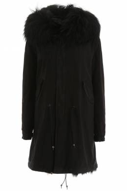LONG PARKA WITH FUR Mr & Mrs Italy 192067DPK000005-9000