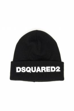 LOGO PATCH BEANIE Dsquared2 192431FPP000005-M063N