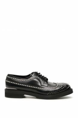 STUDDED DERBY LACE-UPS Alexander McQueen