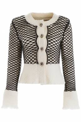 FISHNET TWEED JACKET Alexander Wang 192149DGC000003-106