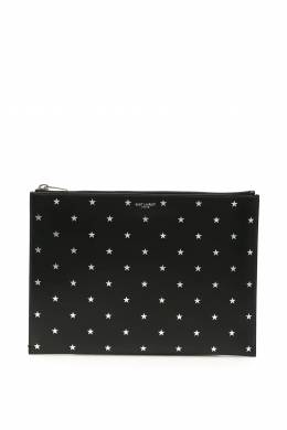 STARS CLUTCH Saint Laurent 192395FAV000001-1054