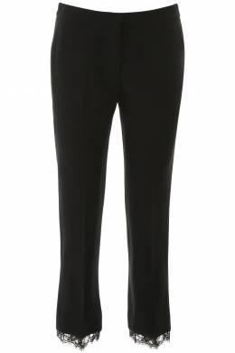CADY TROUSERS WITH LACE Alexander McQueen 201527DPN000001-1000