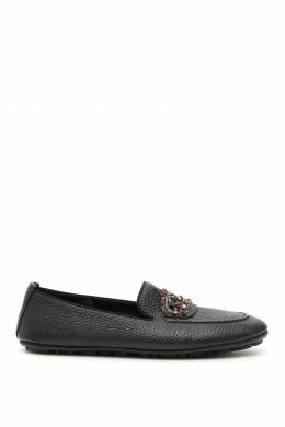 KING DRIVING SHOES Dolce and Gabbana 192450LMO000001-80999