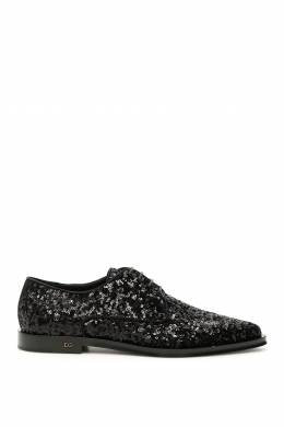 SEQUINS LACE-UPS Dolce and Gabbana 192450NCX000002-8B956