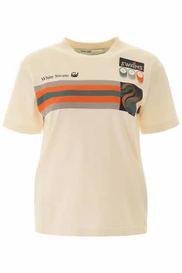 OLYMPIC PRINT T-SHIRT Off-White 192411DTS000005-0188