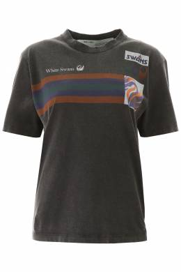 OLYMPIC PRINT T-SHIRT Off-White 192411DTS000005-1088