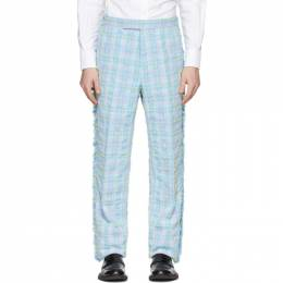 Thom Browne Multicolor Tweed Frayed Trousers MTC413T-06138