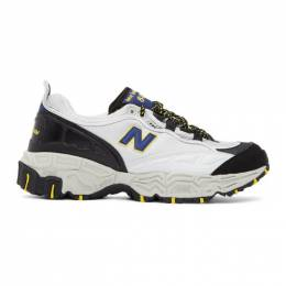 New Balance Grey and Black 801 Sneakers M801AT