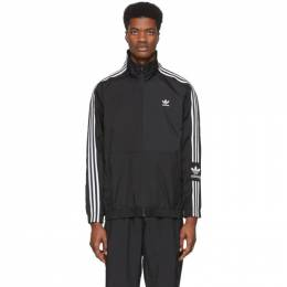 Adidas Originals Black Lock Up Track Jacket FM9881