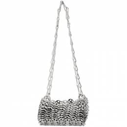Paco Rabanne	 Silver Iconic 1969 Bag 20PSS0127MET001