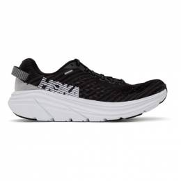 Black and White Rincon Sneakers Hoka One One 1102874 BWHT