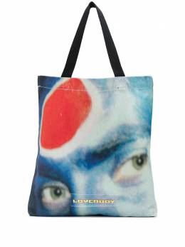 face print tote bag Charles Jeffrey Loverboy CJLSS20TBS