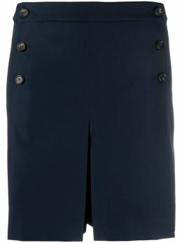 Mulberry high-waisted pleated shorts MYWQ301127Y450400