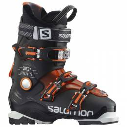 Ботинки горнолыжные Salomon 16-17 Quest Access 70 Black/Orange Translu