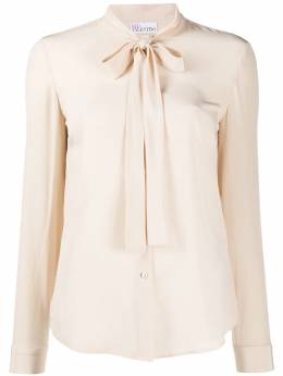 Red Valentino pussy-bow blouse TR3ABA9023H