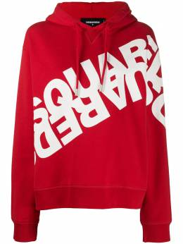 Dsquared2 double logo printed hoodie S75GU0284S25042