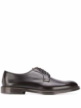 Doucal's low heel oxford shoes DU1385PHOEUY007