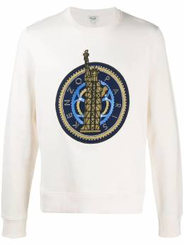 Kenzo embroidered logo relaxed-fit sweatshirt F555SW0694MC
