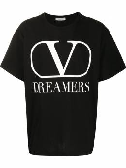 Valentino VLOGO DREAMERS print T-shirt TV0MG06B681