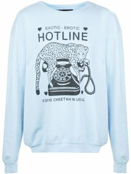 Local Authority Hotline relaxed-fit cotton sweatshirt D20LSN04