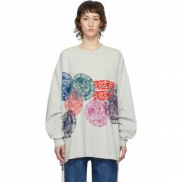 Off-White Flower Circle New Body Long Sleeve T-Shirt Some Ware SW094