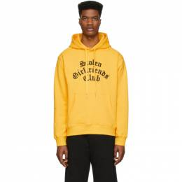 Yellow Arch Gothic Classic Hoodie Stolen Girlfriends Club C4-19H002YJ