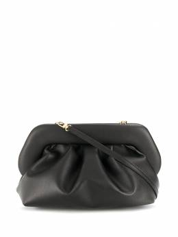 pleated faux-leather clutch bag Themoirè TMS20BN1