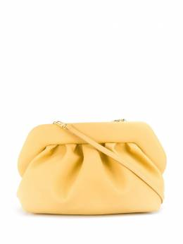 pleated faux-leather clutch bag Themoirè TMS20BD8