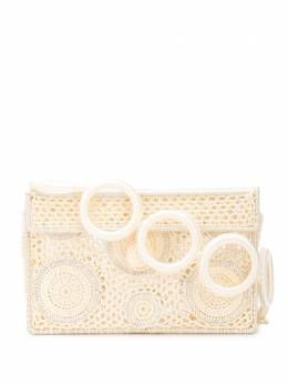 crocheted box clutch Sophie Anderson REC01