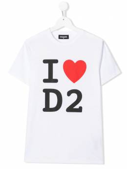 Dsquared2 Kids футболка с принтом DQ03WFD00WY