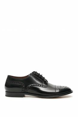 MARSALA DERBY SHOES Dolce and Gabbana 201450LCX000004-8S479