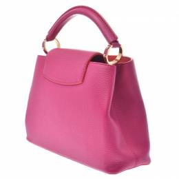 Louis Vuitton	 Pink Taurillon Leather Capucines BB Bag 268705