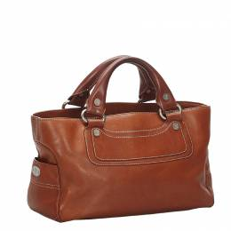 Celine Brown Leather Boogie Bag
