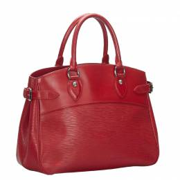 Louis Vuitton Red Epi Leather Passy PM Bag 267283