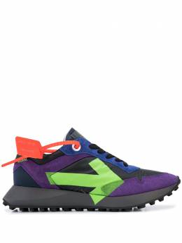 Off-White ARROW SNEAKERS VIOLET GREEN OMIA159R20D390592940