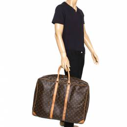 Louis Vuitton	 Monogram Canvas Sirius 55 Suitcase 272206