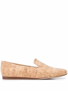 Veronica Beard Griffin flat cork loafers GRIFFIN